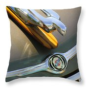 2004 Pt Cruiser Non-standard Hood Ornament Throw Pillow