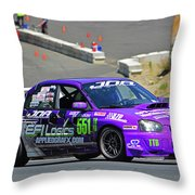 2004 Subaru Wrx Sti Throw Pillow