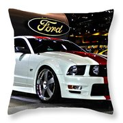 2006 Ford Mustang No 1 Throw Pillow
