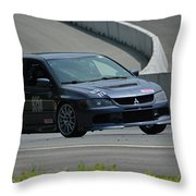 2006 Mitsubishi Evo Throw Pillow
