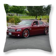 2007 Dodge Charger Couture Throw Pillow