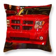 2007 Dodge Nitro Throw Pillow