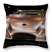 2007 Lexus Lf-a Exotic Sports Car Concept No 2 Throw Pillow