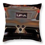 2007 Lexus Lf-a Exotic Sports Car Concept No 3 Throw Pillow