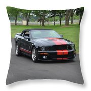 2008 Ford Cobra Weary Throw Pillow