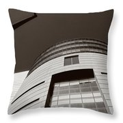 2008 Lines And Forms Throw Pillow