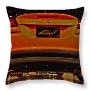 2009 Chicago Auto Showdodge Circuit Ev No 2 Throw Pillow