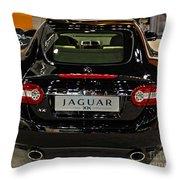 2009 Jaguar Xk Throw Pillow