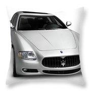 2009 Maserati Quattroporte S Throw Pillow