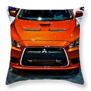 2009 Mitsubishi Lancer Throw Pillow