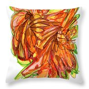 2010 Abstract Drawing Ten Throw Pillow