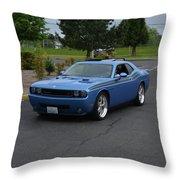 2010 Dodge Challenger Amilowski Throw Pillow