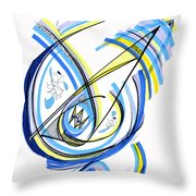 2010 Drawing One Throw Pillow