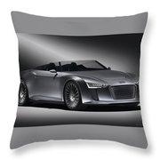 2011 Audi Etron Spyder Throw Pillow