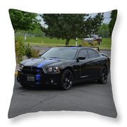 2011 Dodge Charger Rt Lopez Throw Pillow
