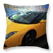 2011 Lamborghini Gallardo Lp560-4 Bicolore 2 Throw Pillow
