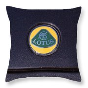2011 Lotus Euora Emblem Throw Pillow