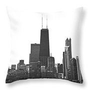 2012 08 11 Bw Chicago Dsc_1612_sig Throw Pillow