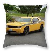 2012 Dodge Challenger Rt Clark Throw Pillow
