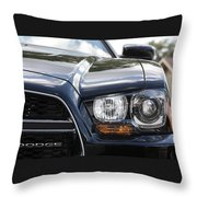 2012 Dodge Charger Throw Pillow