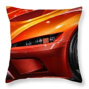 2012 Falcon Motor Sports F7 Series 1  Throw Pillow