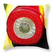 2012 Ferrari 458 Spider Brake Light Throw Pillow