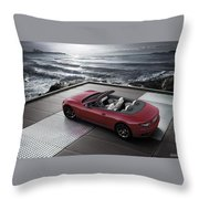 2012 Maserati Grancarbio Sport 3 Throw Pillow