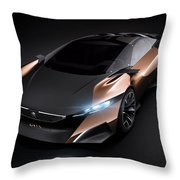 2012 Peugeot Onyx Concept Throw Pillow