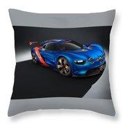 2012 Renault Alpine A110 50  Throw Pillow