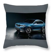 2013 Bmw X4 Concept  1 Throw Pillow