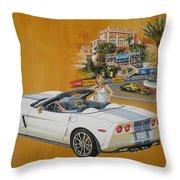 2013 Chevrolet Corvette Throw Pillow