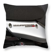 2013 Ducati Throw Pillow