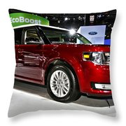 2013 Ford Flex Sel Throw Pillow