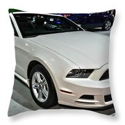 2013 Ford Mustang No 1 Throw Pillow