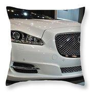 2013 Jaguar Xjl Portfolio Awd Throw Pillow
