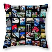 2014 - 2015 Arizona Concours D'elegance Art -03 Throw Pillow