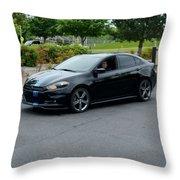 2014 Dodge Dart Gt Jones Throw Pillow