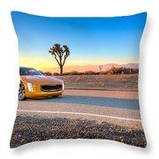 2014 Kia Gt4 Stinger Concept Throw Pillow