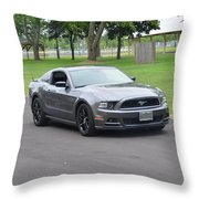 2014 Mustang Kindel Throw Pillow