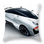 2014 Ssc Tuatara 2 Wide Throw Pillow