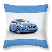2014 Volvo S60 Polestar Throw Pillow