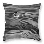 2015 A Space Odyssey - Bw Throw Pillow