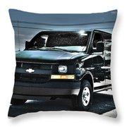 2015 Chevrolet Express Van Throw Pillow
