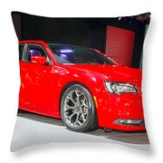 2015 Chrysler 300 Sport Throw Pillow