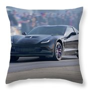 2015 Corvette Z06 Coupe Throw Pillow
