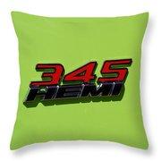 2015 Dodge Challenger R/t Throw Pillow