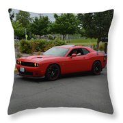2015 Dodge Challenger Scat Pack Harper Throw Pillow