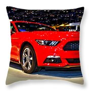 2015 Ford Mustang Coupe I4 Premium Throw Pillow