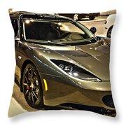 2015 Lotus Evora Ips Throw Pillow