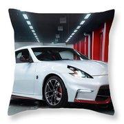 2015 Nissan 370z Nismo 3  2 Throw Pillow